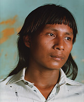 William Crawford traveled to Pimentel Barbosa with Cultural Survival founders David and Pia Maybury-Lewis in 1982, two years before Warodi shared the dream recorded by Laura Graham. This portrait is among the photographs he took on that trip. Photo by William Crawford.