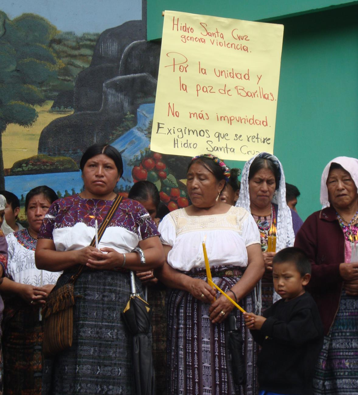 Guatemala: We Are All Barillas-  Stop a Dam on Our Sacred River!