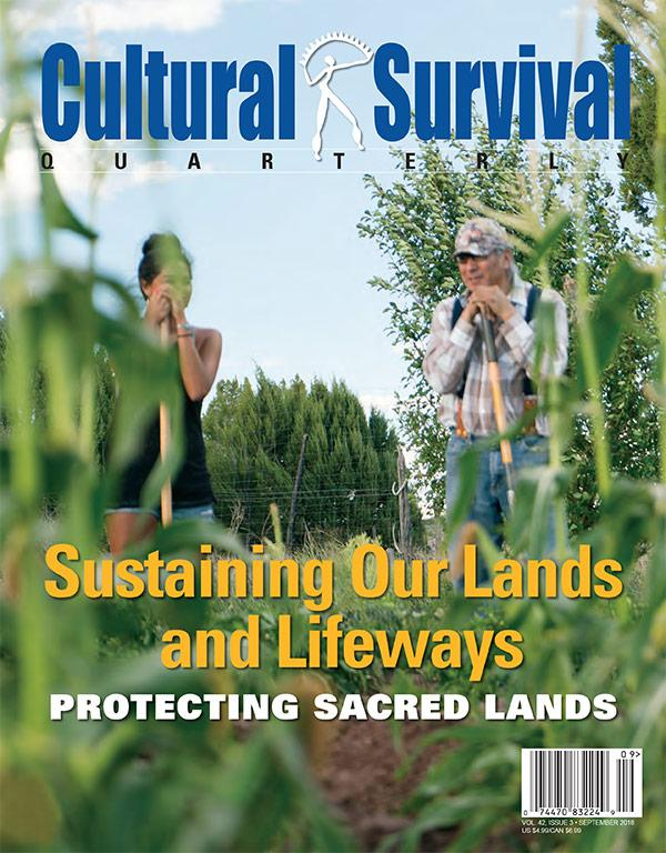 CSQ 42-3 Sustaining Our Lands and Lifeways