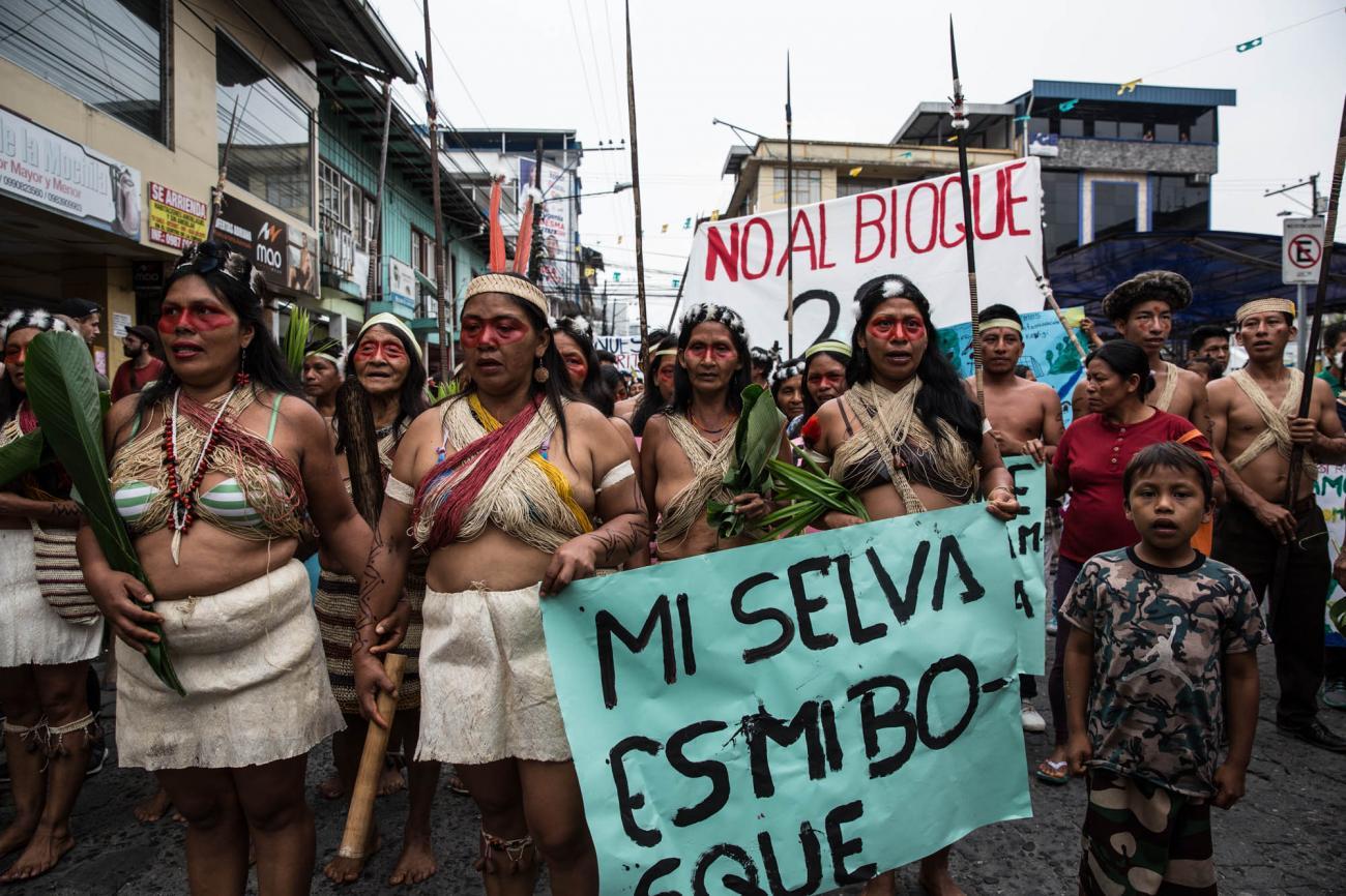A Way of Life More Precious Than Oil: THE WAORANI OF ECUADOR Win A HISTORIC LAWSUIT IN DEFENSE OF THE AMAZON