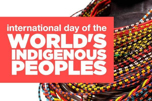 International Day of the Worlds Indigenous Peoples - August  09  IMAGES, GIF, ANIMATED GIF, WALLPAPER, STICKER FOR WHATSAPP & FACEBOOK