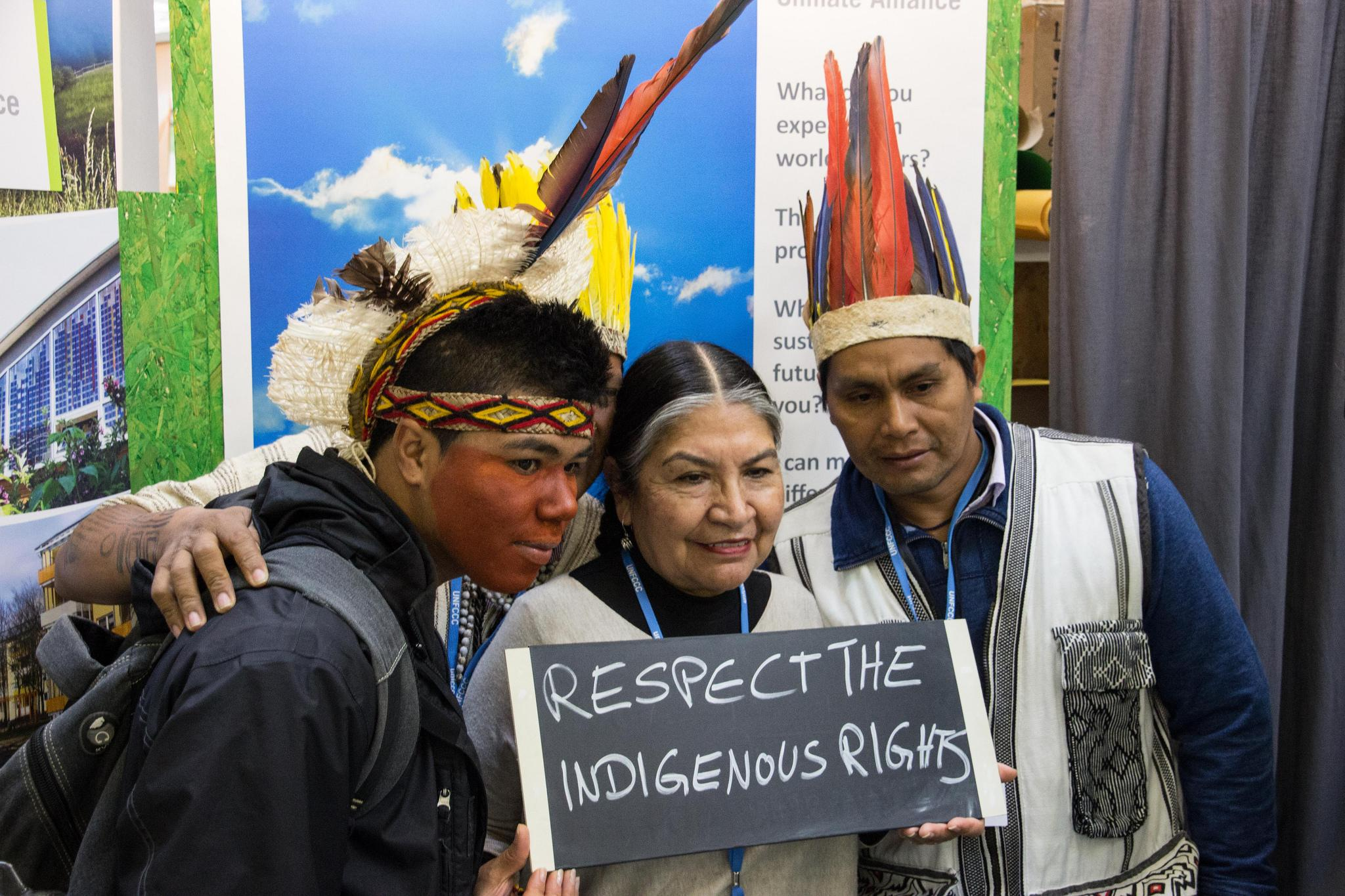 u201cannexed  u201d the rights of indigenous peoples in the un climate change conference 2015