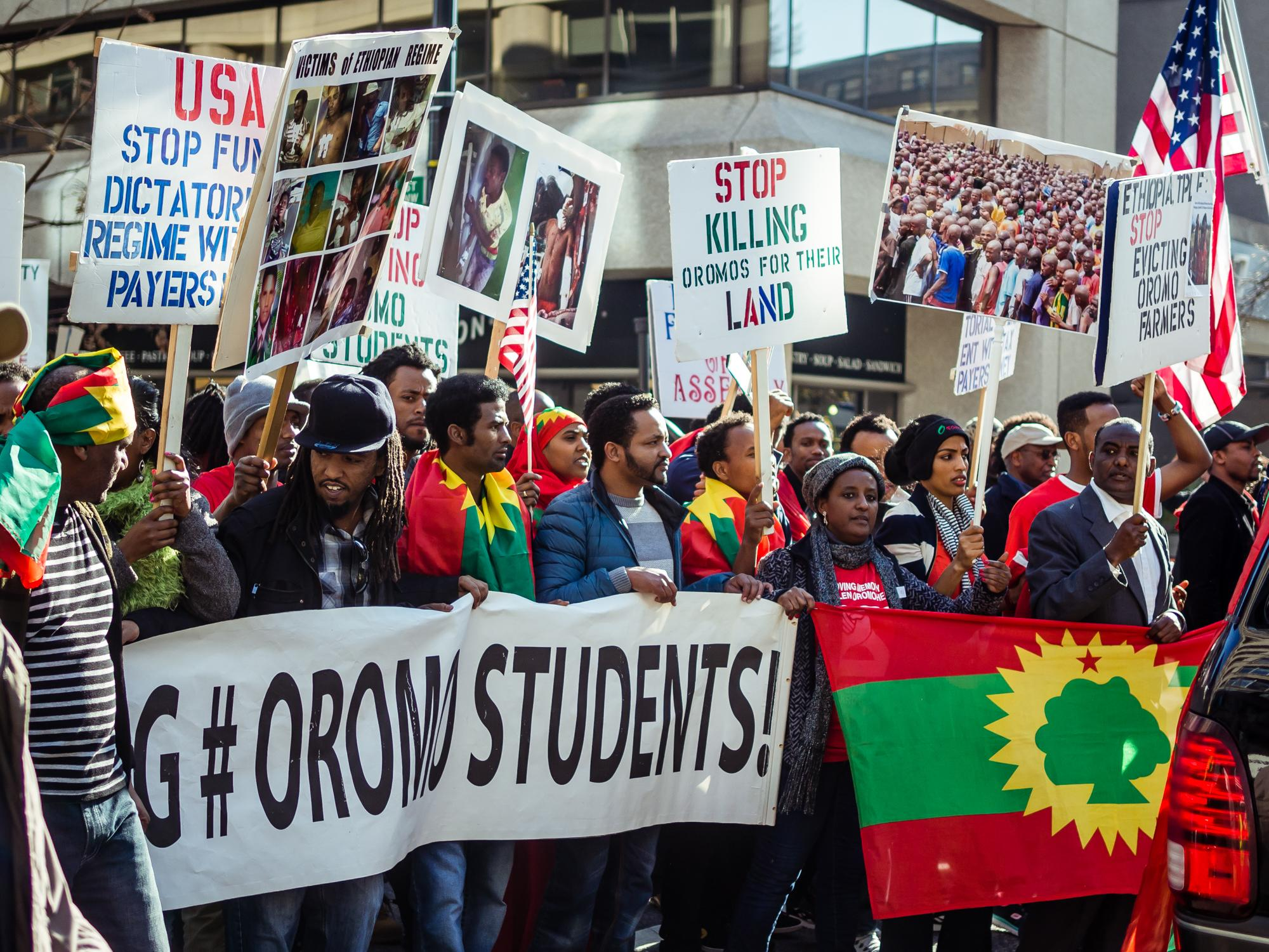Human Rights of Ethiopia's Oromo People Brought to Light in Rio